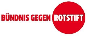 Logo Buendnis gegen Rotstift
