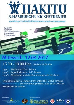 8. Hamburger Kickerturnier, 12